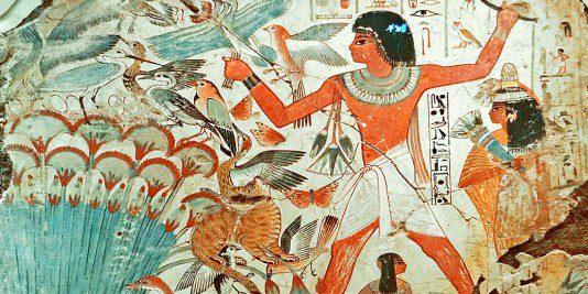 Actualité   Egypte   Histoire   Historyweb  Un rarissime carré de lin funéraire égyptien aux enchères actu histoire historyweb 52 534x267