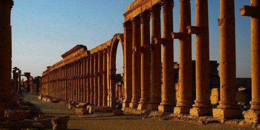 Palmyre |Syrie | Historyweb | Le site de l'Histoire -2  Palmyre, miracle archéologique en danger actualit   histoire historyweb 9 534x267