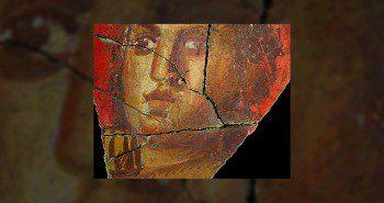 Fresque avec visage de femme, Arles | Historyweb.fr palmyre Palmyre, miracle archéologique en danger fresque arles 350x185