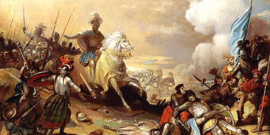 La bataille de Marignan | Le site de l'Histoire | Historyweb bataille de marignan 1515 – La bataille de Marignan bataille marignan histoire historyweb 534x267