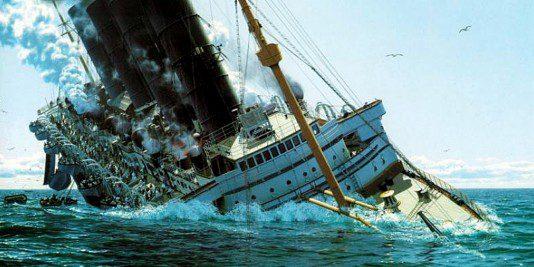 Le naufrage du Lusitania | Site d'histoire Historyweb naufrage du lusitania Le naufrage du Lusitania naufrage lusitania histoire historyweb 1 534x267