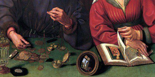 L'évasion fiscale à l'époque des Croisades | Site d'Histoire | Historyweb évasion fiscale L'évasion fiscale à l'époque des Croisades 637px quentin massys 001 534x267
