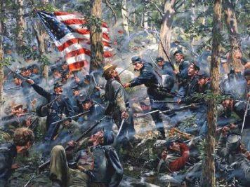 Bataille de Gettysburg | Site d'Histoire | Historyweb -6 la bataille de gettysburg LA BATAILLE DE GETTYSBURG bataille gettysburg historyweb 8 356x267