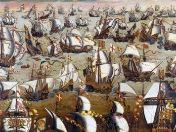 L'Invincible Armada | Le site de l'Histoire | Historyweb l'invincible armada L'invincible armada et la bataille de Gravelines invincible armada historyweb 356x267