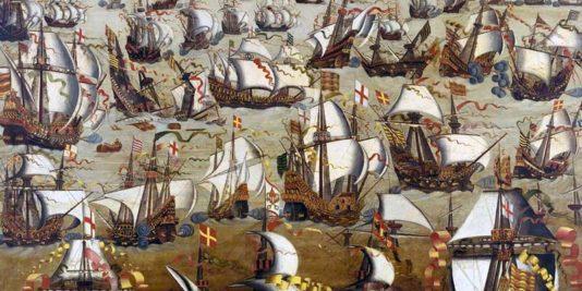 L'Invincible Armada | Le site de l'Histoire | Historyweb l'invincible armada L'invincible armada et la bataille de Gravelines invincible armada historyweb 534x267