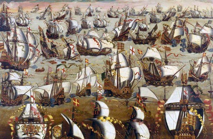 L'Invincible Armada | Le site de l'Histoire | Historyweb l'invincible armada L'invincible armada et la bataille de Gravelines invincible armada historyweb 730x479