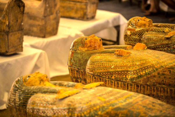 Découverte de sarcophages anciens |Le site de l'Histoire | Historyweb découverte de sarcophages anciens Découverte de sarcophages anciens sarcophages 600x403